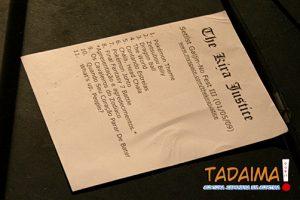 Setlist do show da banda The Kira Justice em Curitiba