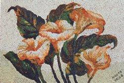 Exposição de Mosaicos de Arroz na Biblioteca Pública de Curitiba