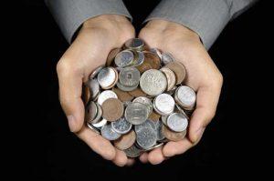 Hora de quebrar o porquinho de moedas