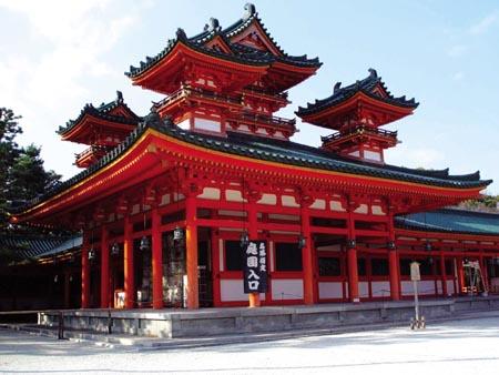 Santuário Heian, exemplo de Templo Xintoísta