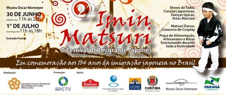 Imin Matsuri 2012 - Programação Oficial