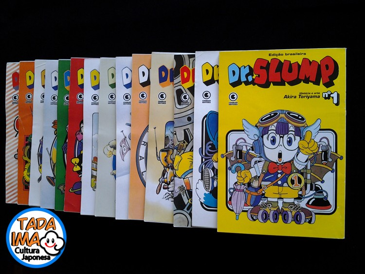 Sebo de Mangas - Dr. Slump do 01 ao 14
