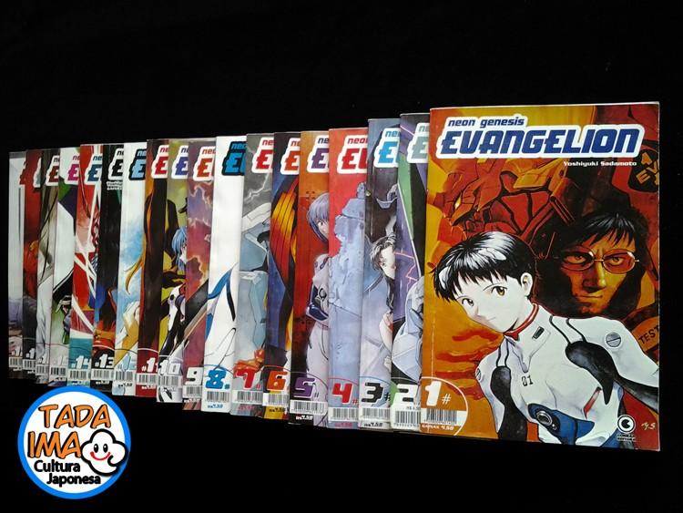 Sebo de Mangas Neon Genesis Evangelion - 01 ao 18