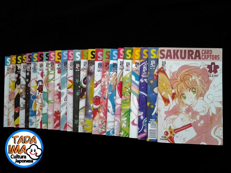 Sebo de Mangas Sakura Card Captor - 01 ao 24