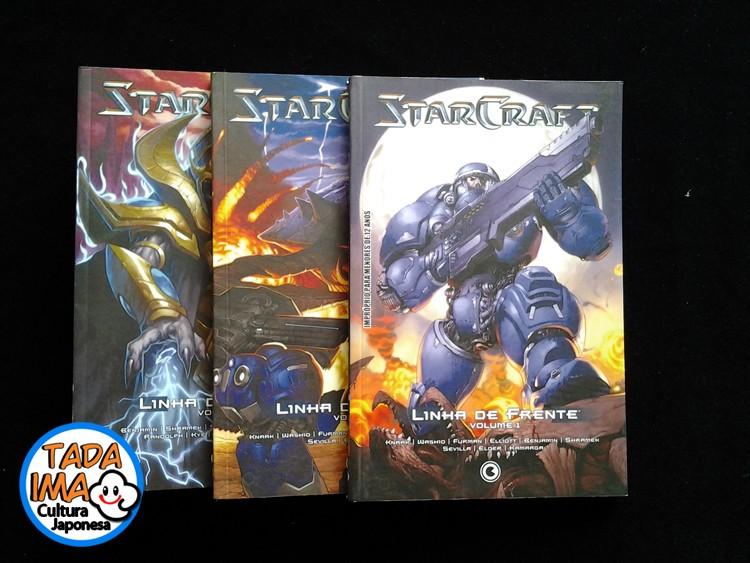 StarCraft: Linha de Frente - 01 ao 03 Tadaima