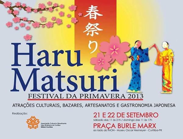 Cartaz Haru Matsuri 2013