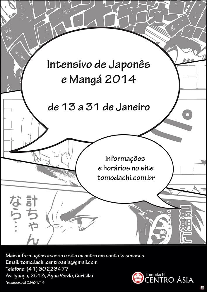 Aprenda japonês e mangá no Tomodachi Centro Ásia