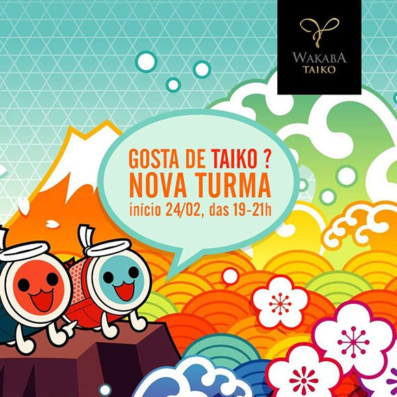 Wakaba Taiko anuncia inscrições para nova turma