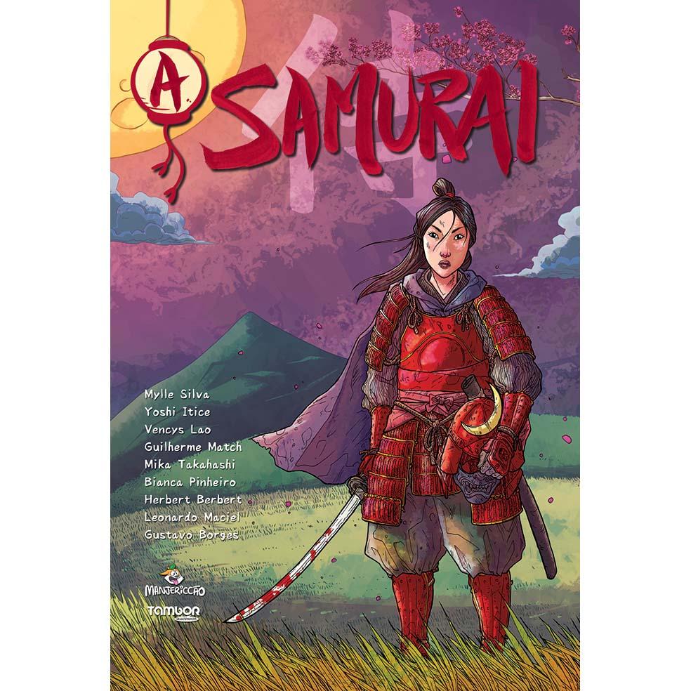 Capa da HQ A Samurai, de Mylle Silva