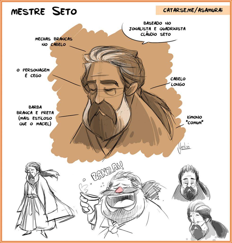 O que eu aprendi com Claudio Seto
