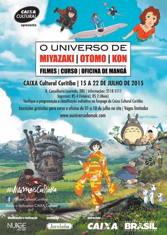 Caixa Cultural promove curso, palestra e mostra de animação japonesa