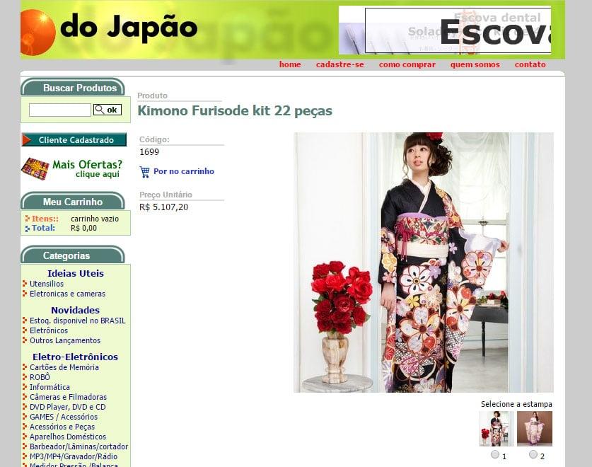 Do Japão alugar kimono brasil