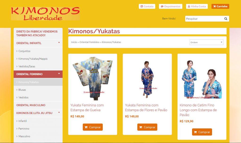 Kimonos Liberdade alugar kimonos brasil